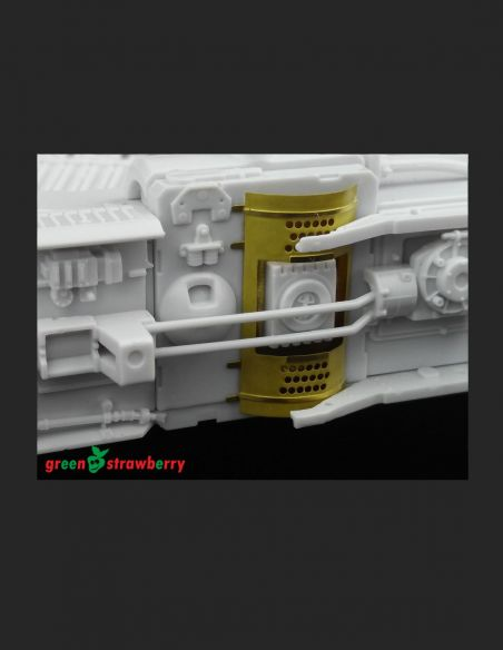 "YT-1300 ""Millennium Falcon"" - exterior - Greenstrawberry-most realistic sci-fi and photoetch models"