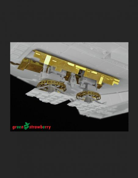 "YT-1300 ""Millennium Falcon"" - Landing gears - Greenstrawberry-most realistic sci-fi and photoetch models"