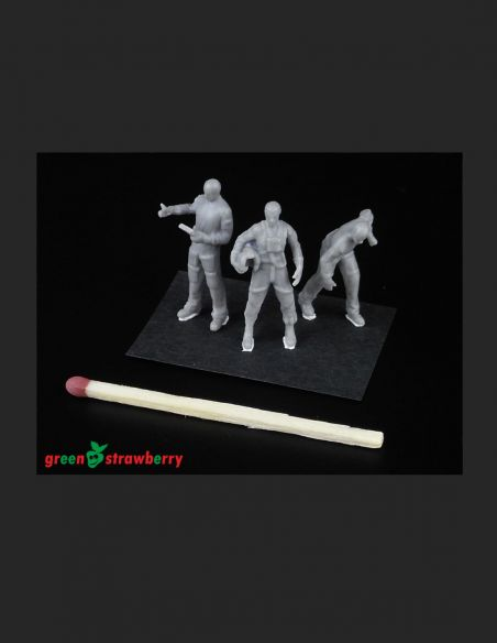Hangar crew vol.I   - Greenstrawberry-most realistic sci-fi and photoetch models