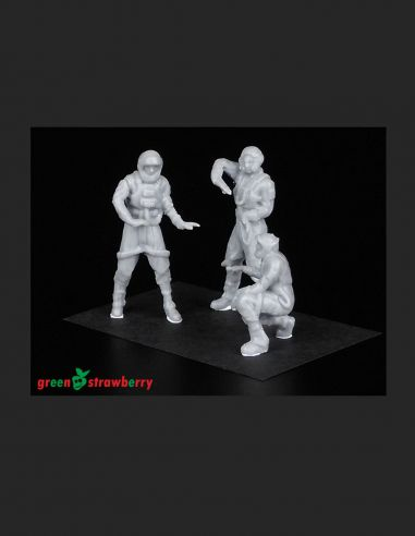 Hangar crew vol.II -Greenstrawberry-most realistic sci-fi and photoetch models