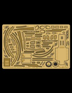 Photo etch detail set for U.S.S. Shenzhou NCC-1227 scale 1/2500 from new STAR TREK TV show Discovery.