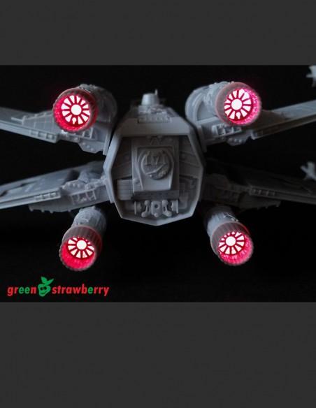 T-65 X-Wing – nozzles