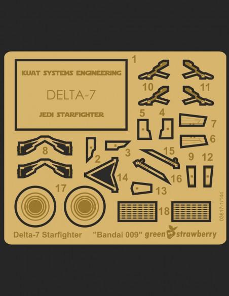 Delta-7 Starfighter Bandai 009
