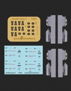 Engine Seqenzer Bussard Collector Dreheffekt Ring Enterprise TOS 1:600 Star Trek